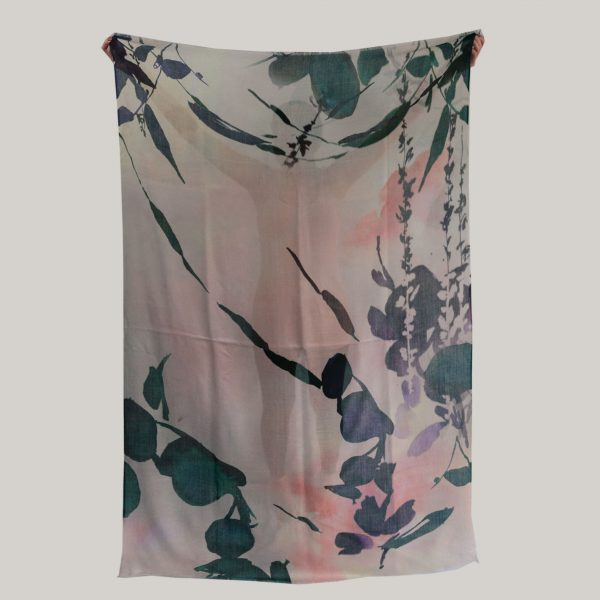 Floral Scarf; Bathing in the Forest (slide 3)