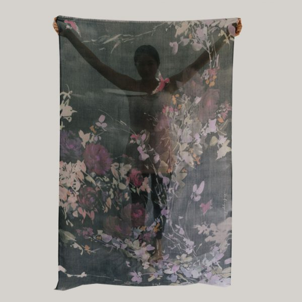 Floral Scarf; A Floating World (slide 4)