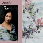 Floral Scarf; Juskio - Pretty Imperfect (slide 3)