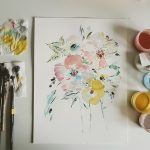 Original Floral Painting; Dose of Happy