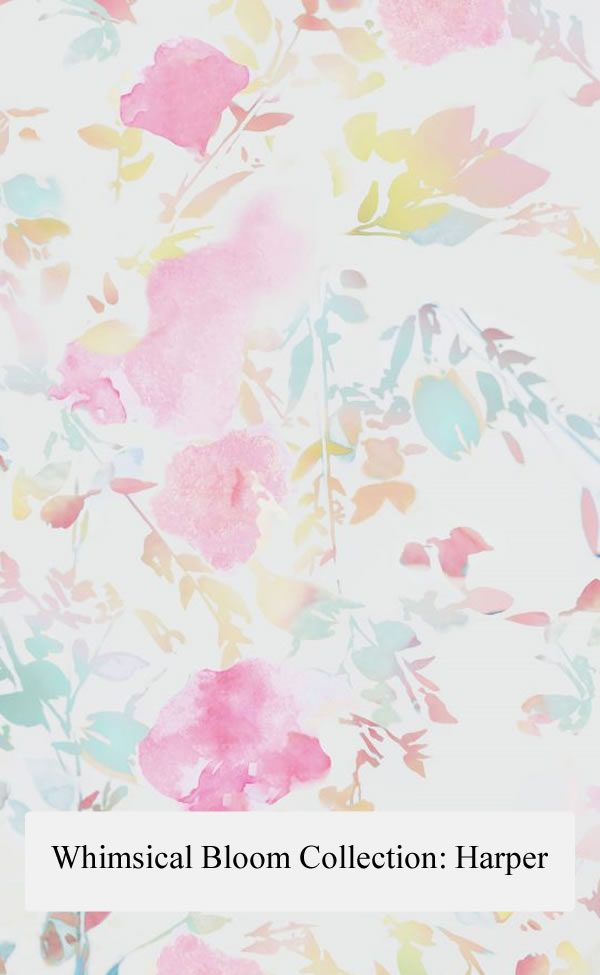 Floral Designs; Scarf - Harper [Whimsical Bloom Collection]
