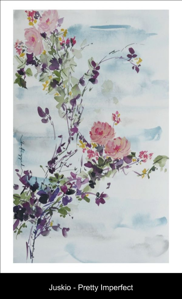 Floral Scarf; Juskio - Pretty Imperfect