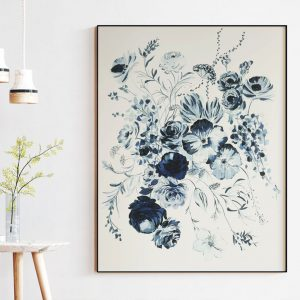 Original Floral Painting; Flowers in Bloom